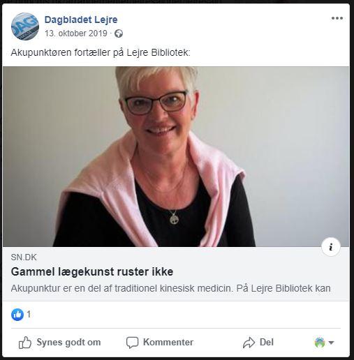 Eva Christensen Akupunktur og Trivsel