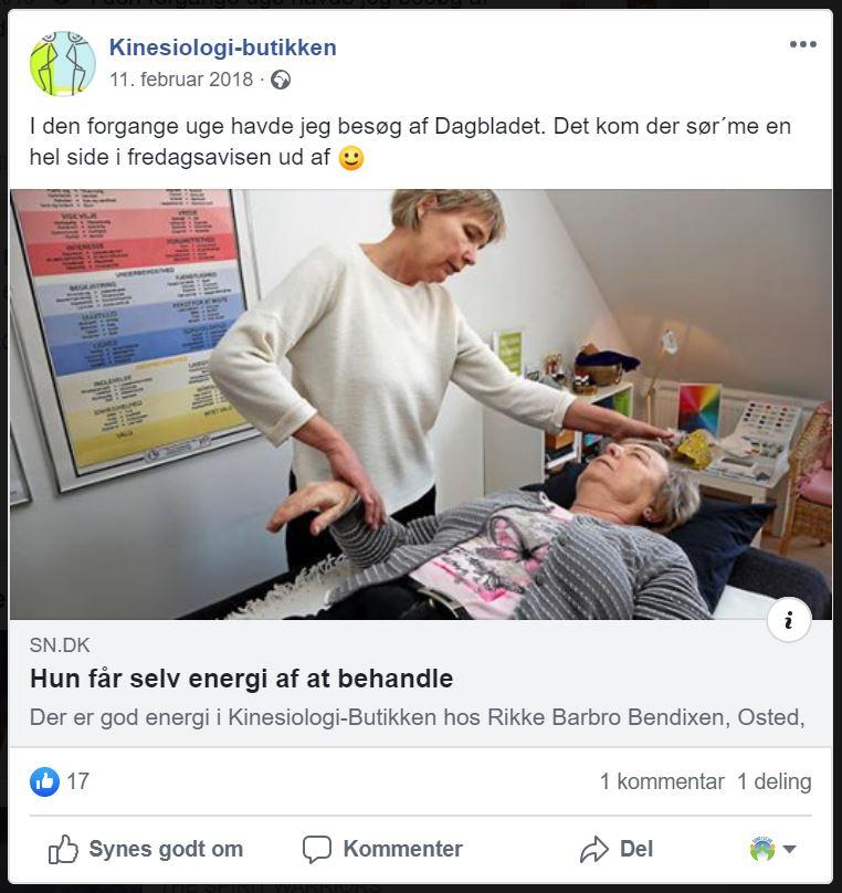 kinesiologi Kinesiolog Rikke Barbro Bendixen